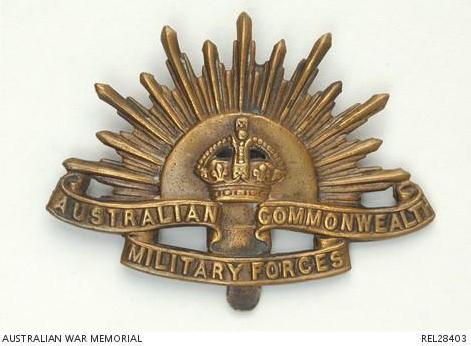 Australian Commonwealth Military Forces WW1 Mug 2nd Light Horse